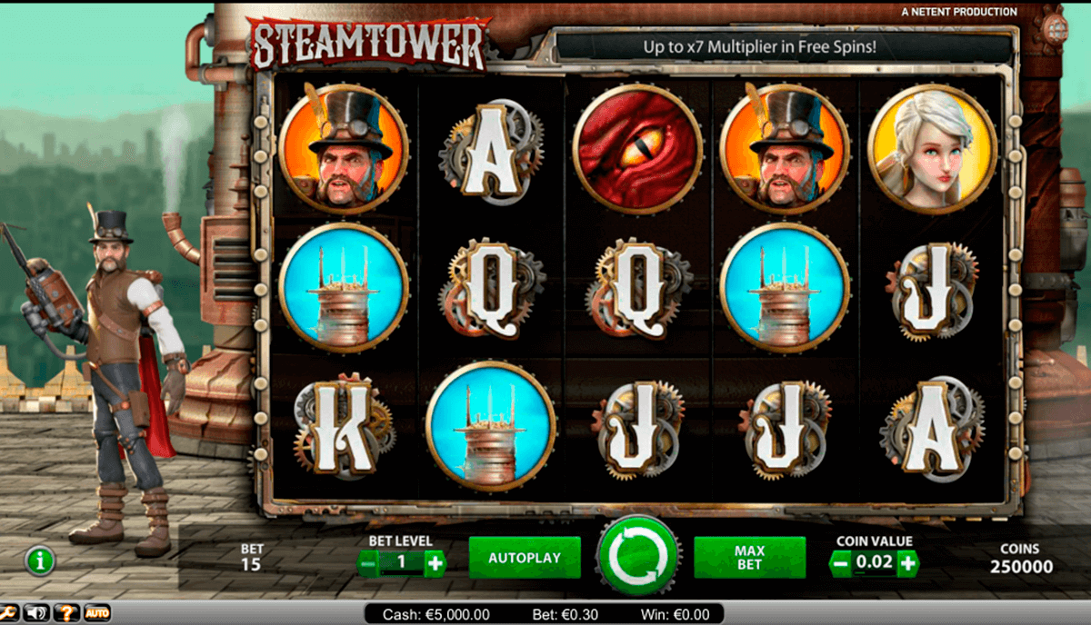 steam tower netent kaszino jatek